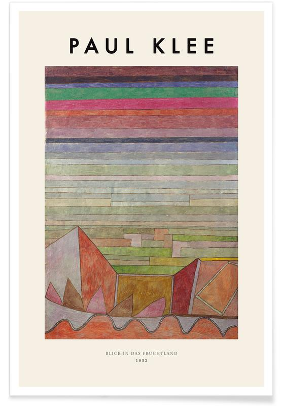 Paul Klee, Klee - View into the Fertile Country affiche