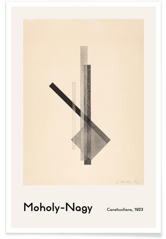 , László Moholy-Nagy - Constructions -Poster