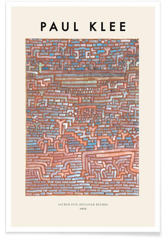 Paul Klee, Klee - Sacred Site poster