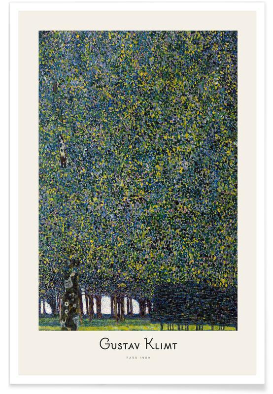 Gustav Klimt, Forêts, Klimt - Park affiche