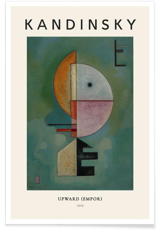 Wassily Kandinsky, Kandinsky - Upward Poster