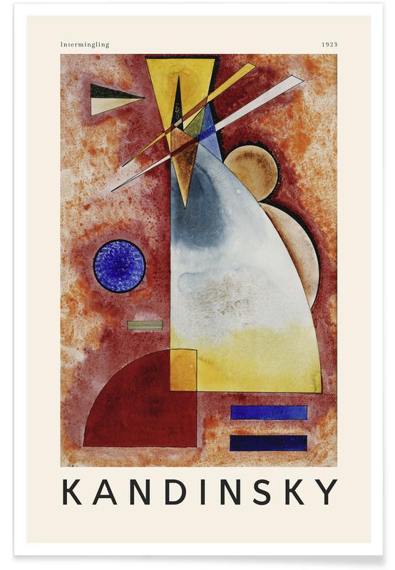 Wassily Kandinsky, Kandinsky - Intermingling affiche