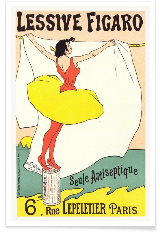 Léo Gausson, Lessive Figaro - Seule Antiseptique affiche