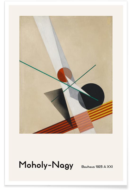 László Moholy-Nagy, László Moholy-Nagy - A XXI poster