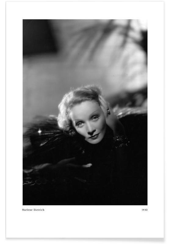 , Marlene Dietrich Poster