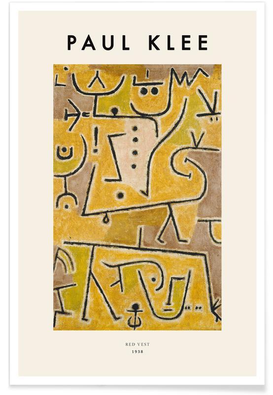 Paul Klee, Klee - Red Vest poster