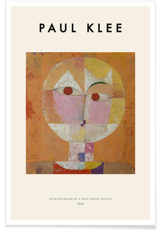 Paul Klee, Klee - Senecio affiche