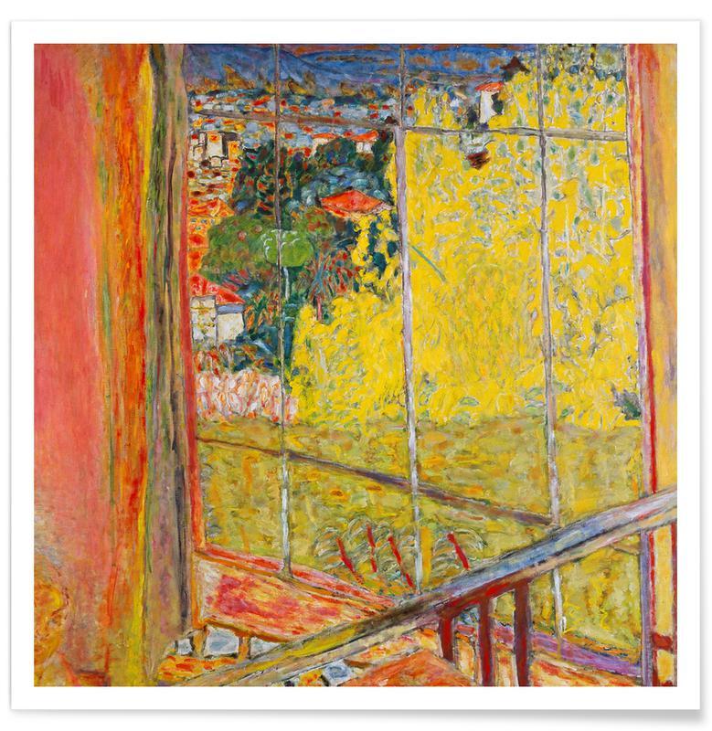 Pierre Bonnard, Bonnard - The Studio with Mimosa affiche