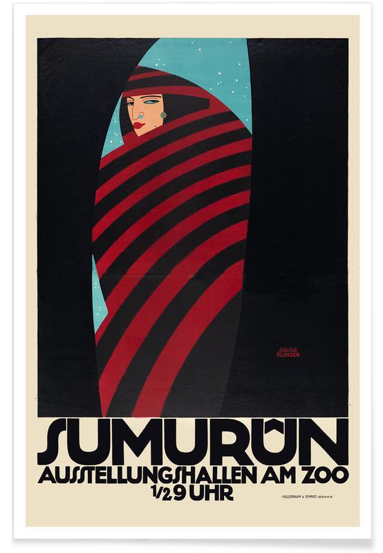 Julius Klinger, Julius Klinger - Sumurun -Poster