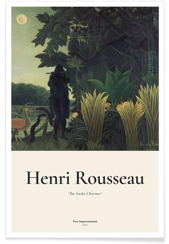 Henri Rousseau, Rousseau - The Snake Charmer Poster