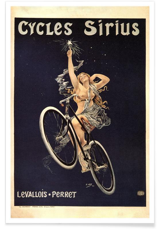 Henri Gray (Boulanger), Gray (Boulanger) - Cycles Sirius Poster