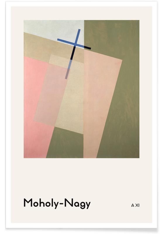 László Moholy-Nagy, László Moholy-Nagy - A XI poster