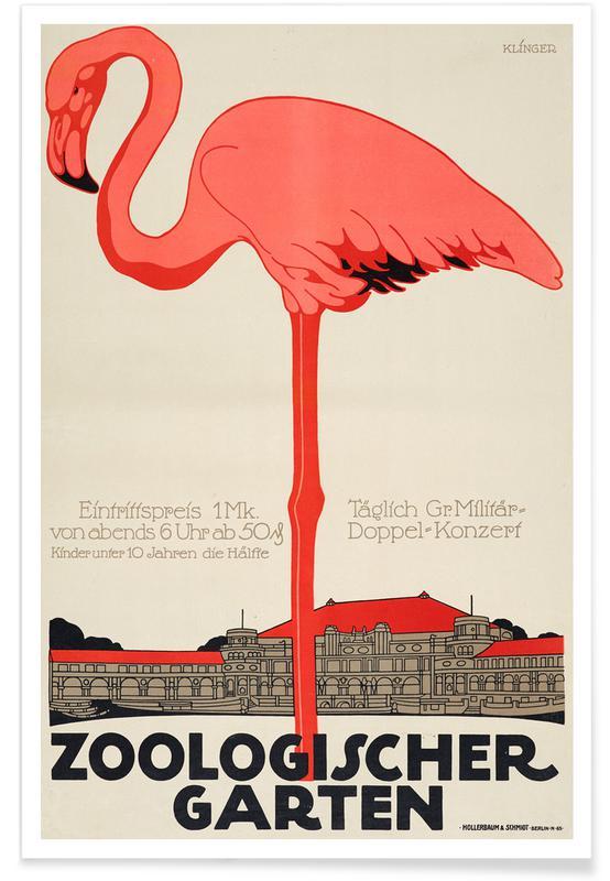 Kunstklassiekers, Zoologischer Garten poster