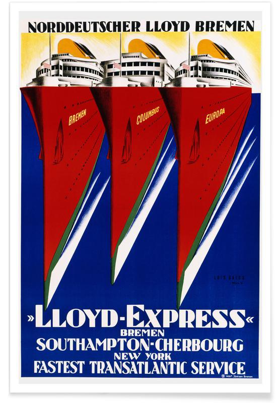 Lois Gaigg, Lois Gaigg - Lloyd Express Poster