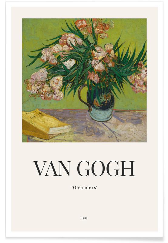 Vincent Van Gogh, Tournesols, van Gogh - Oleanders affiche