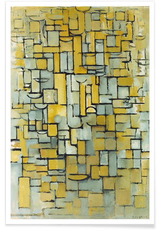 Piet Mondrian, Mondrian - Komposition affiche