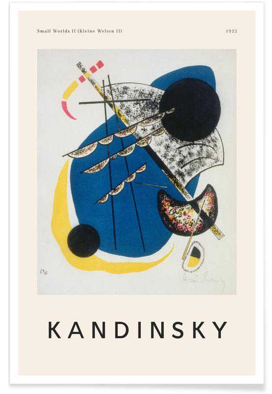 Wassily Kandinsky, Wassily Kandinsky - Small Worlds II (Kleine Welten II) affiche