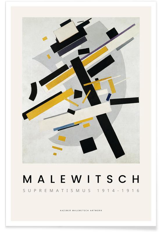 Kasimir Malewitsch, Malewitsch - Suprematismus 1914-1916 affiche