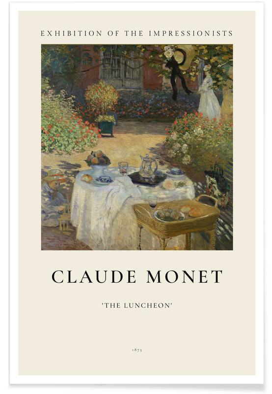 Claude Monet, Monet - The Luncheon affiche