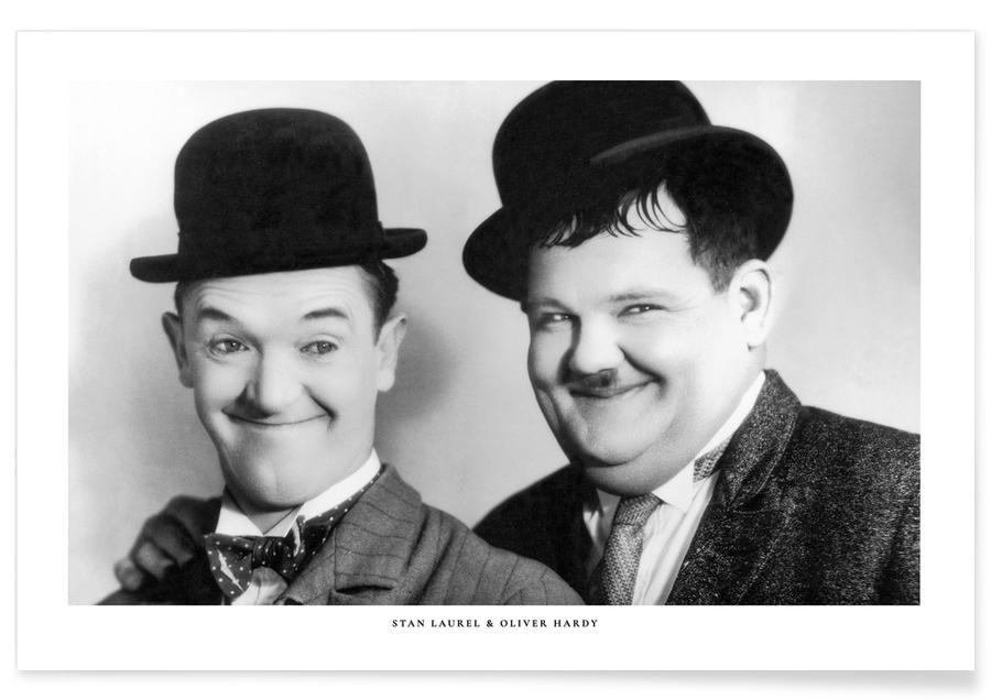 , Laurel and Hardy poster