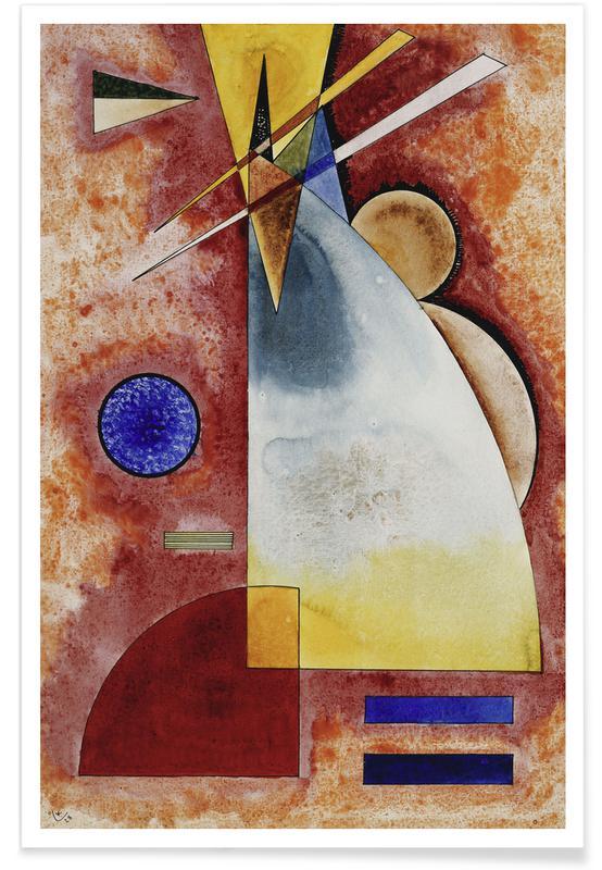 Wassily Kandinsky, Kandinsky - Intermingling poster