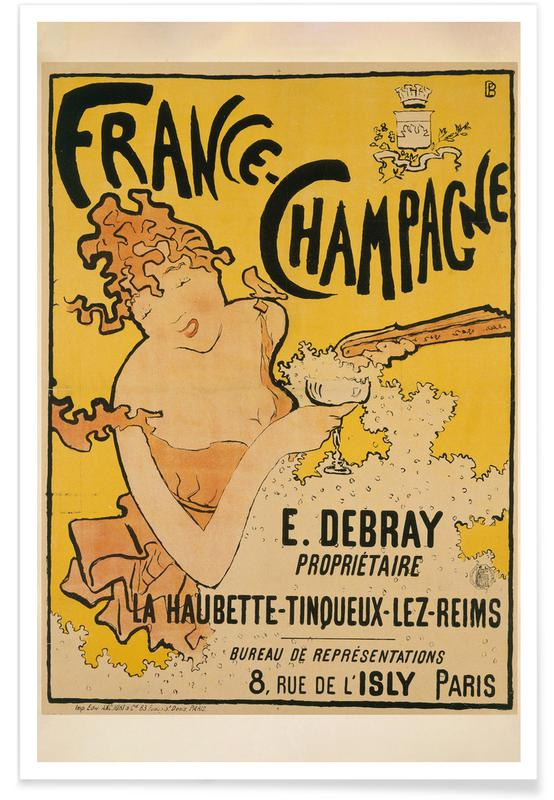 Pierre Bonnard, Pierre Bonnard - France-Champagne affiche