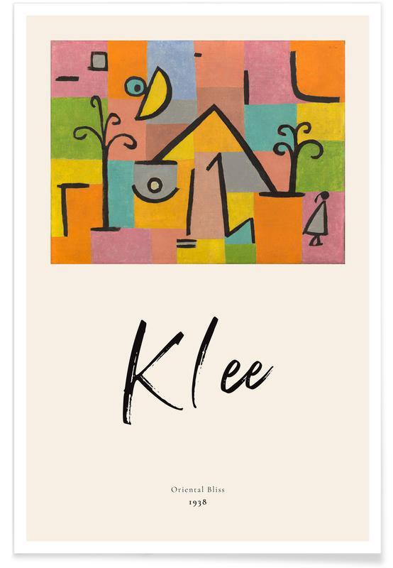 Paul Klee, Klee - Oriental Bliss affiche