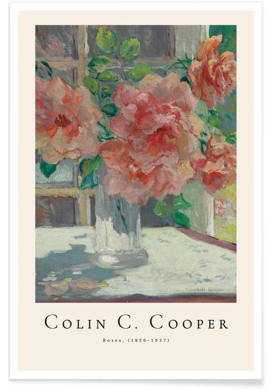Colin Campbell Cooper, Colin Campbell Cooper - Roses poster