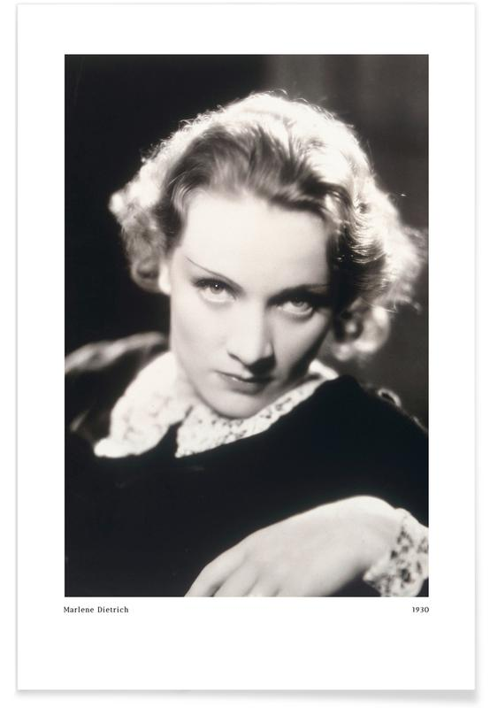 , Marlene Dietrich as Amy Jolly in Morocco Poster
