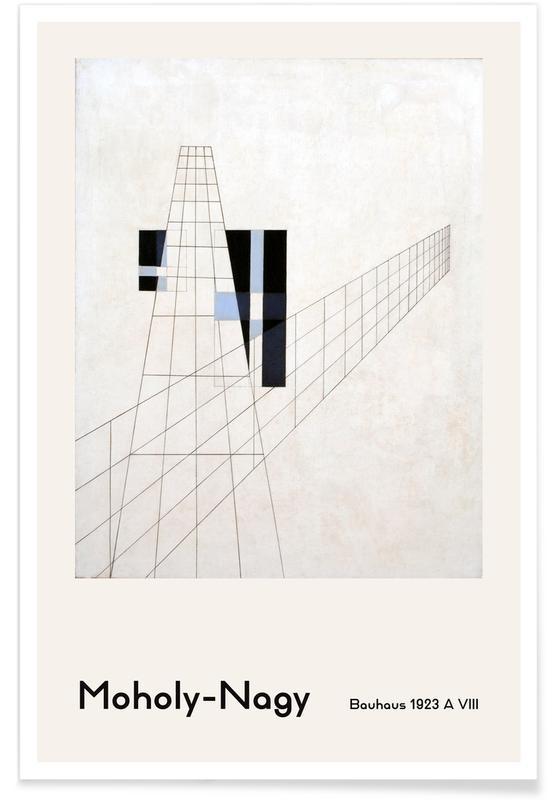 László Moholy-Nagy, László Moholy-Nagy - A VIII poster