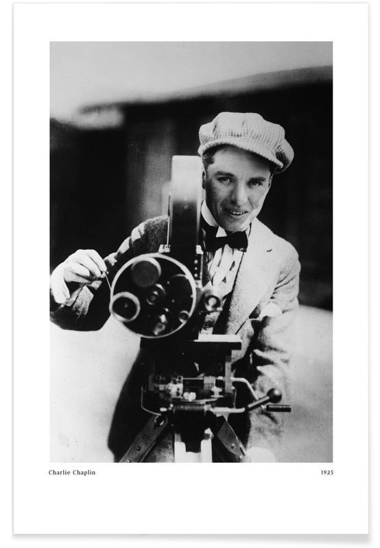 , Charlie Chaplin Poster