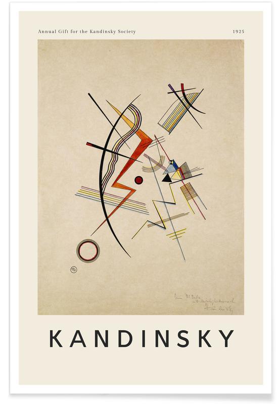 Wassily Kandinsky, Kandinsky - Annual Gift for the Kandinsky Society affiche