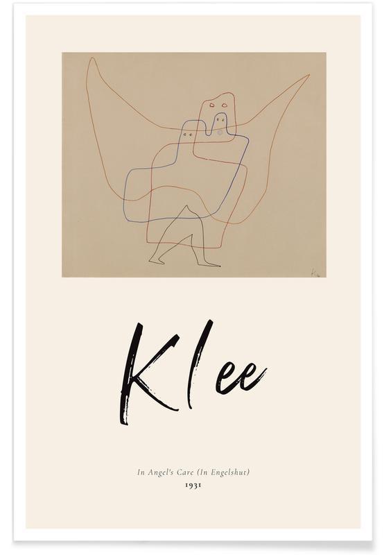 Paul Klee, Klee - In Angel's Care -Poster