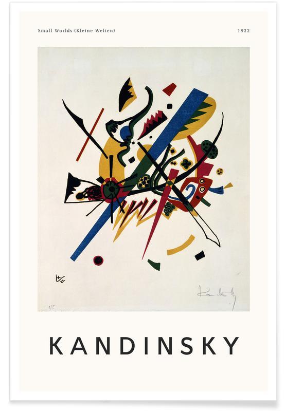 Wassily Kandinsky, Kandinsky - Small Worlds affiche