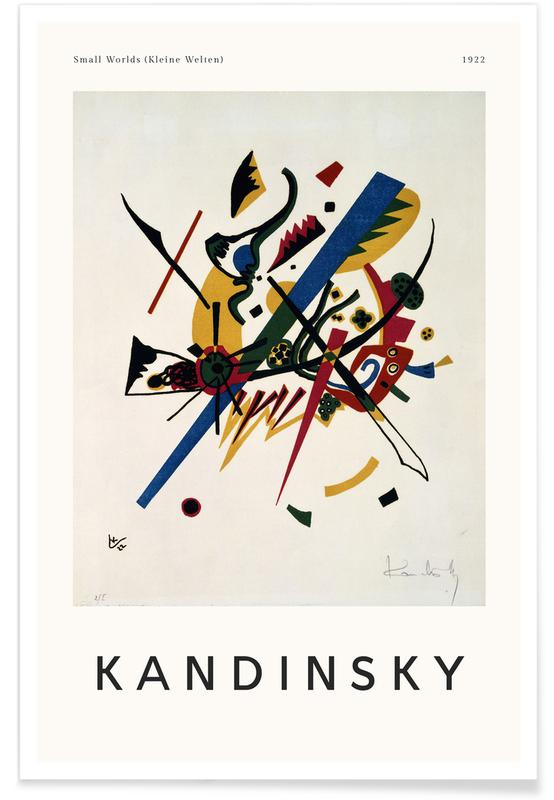 Wassily Kandinsky, Kandinsky - Small Worlds Poster