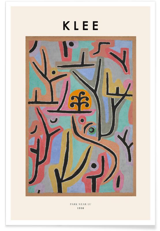 Paul Klee, Klee - Park Near Lu affiche