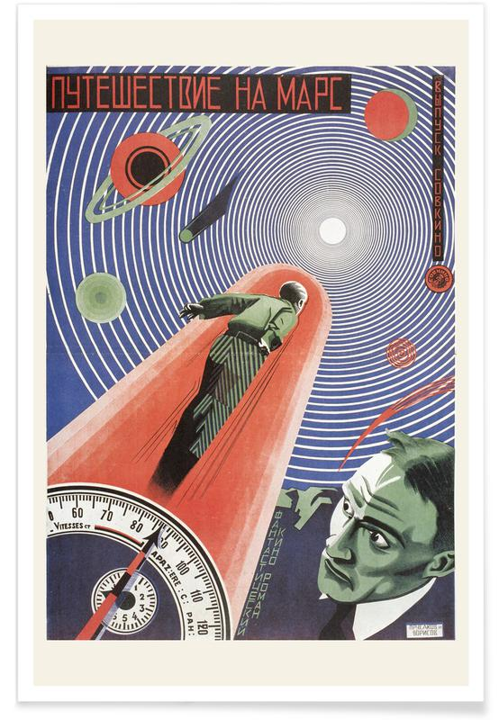 Grigori Iljitsch Borissow, Grigori Iljitsch Borissow - Journey to Mars -Poster