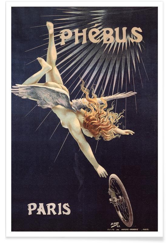 Body close-ups, Parijs, Naakt, Henri Gray (Boulanger), Henri Gray (Boulanger) - Cycles Sirius poster