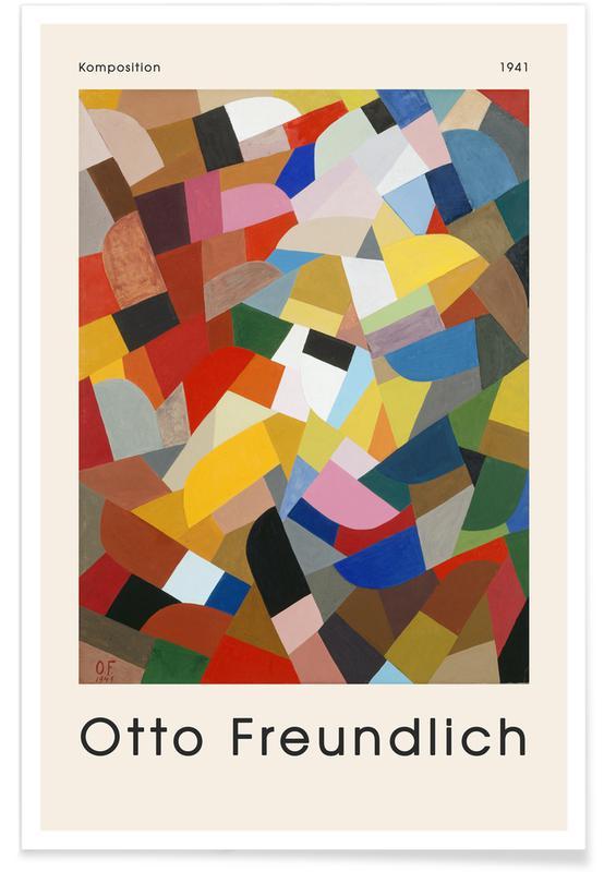 Otto Freundlich, Freundlich - Komposition, 1941. Poster