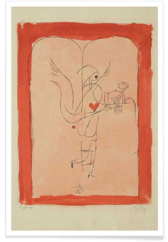 Paul Klee, Klee - A Guardian Angel Serves a Small Breakfast -Poster