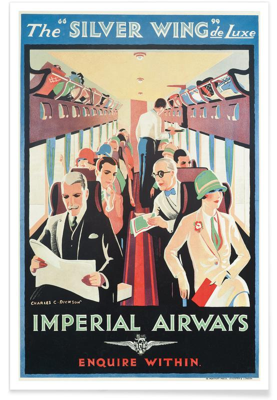 Charles C. Dickson, Charles C. Dickson - Imperial Airways poster