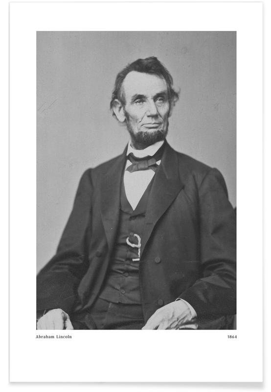 Anthony Berger, Portraits, Anthony Berger - Abraham Lincoln Poster