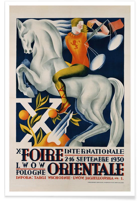 , Xe Foire Orientale Poster