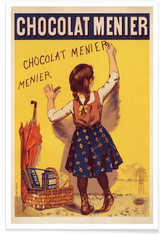 Etienne Maurice Firmin Bouisset, Firmin Bouisset - Chocolat Menier affiche