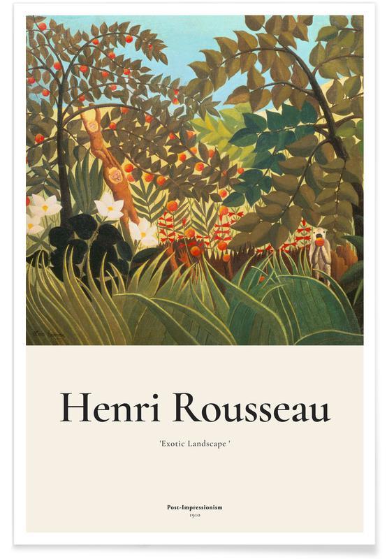 Henri Rousseau, Rousseau - Exotic Landscape affiche