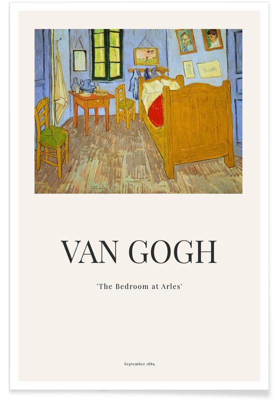 Vincent Van Gogh, van Gogh - The Bedroom at Arles affiche