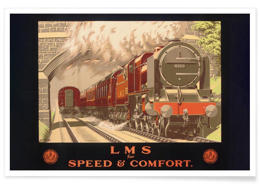 Vintage voyage, Secretan - LMS for Speed and Comfort affiche
