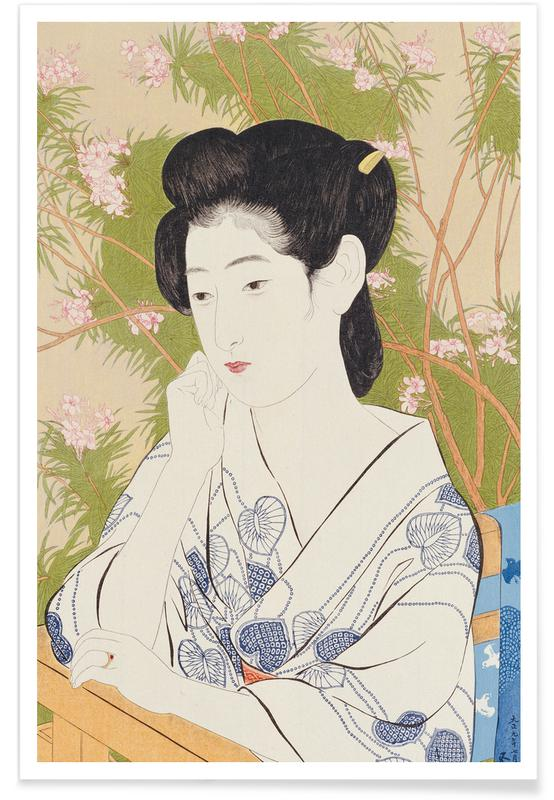 Japanisch inspiriert, Hashiguchi - Inn at a Hotspring (Onsen yado) -Poster