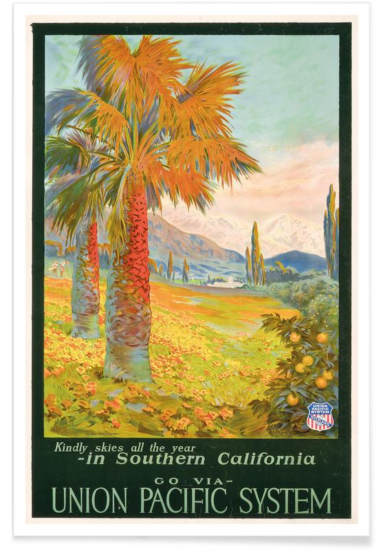 M. Gundlach, Bomen, Gundlach - Poster for Union Pacific System Advertising Southern California poster