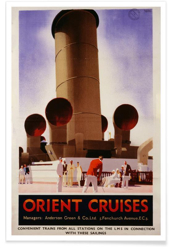 Vintage voyage, Johnson - Orient Cruises affiche